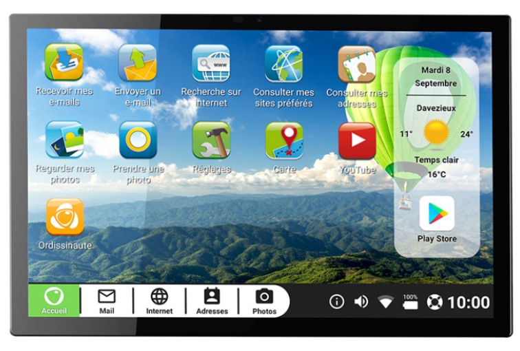 Ordissimo ART0418 - 25,6 cm (10.1 Zoll) - 1200 x 1920 Pixel - 64 GB - 4 GB - Android 10 - Schwarz