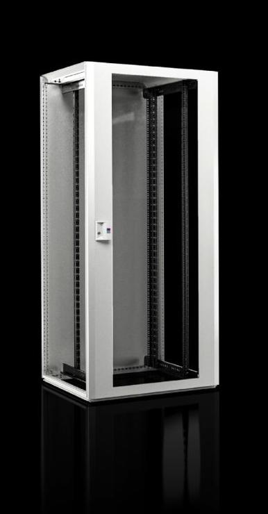 Vorschau: Rittal rack TX CableNet - Freistehendes Gestell - 42U - Sperrschloss - Verbessertes Kabelmanagement - Weiß