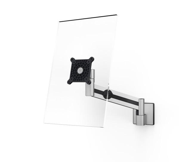 Durable 509023 - 8 kg - 53,3 cm (21 Zoll) - 96,5 cm (38 Zoll) - 100 x 100 mm - Höhenverstellung - Silber