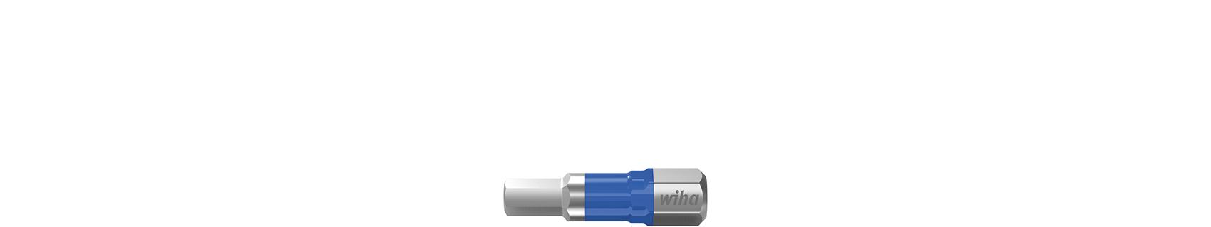Wiha 41623 - 5 Stück(e) - Quadratisch - 2,5 cm - 46 g - 25,4 / 4 mm (1 / 4 Zoll) - Hexagonal