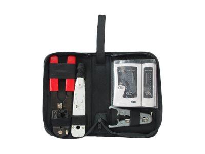 equip Pro - Network Tool/Tester Kit - Schwarz