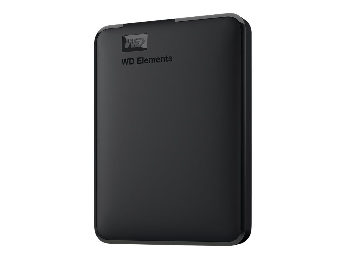 WD Elements Portable WDBUZG0010BBK - Festplatte - 1 TB - extern (tragbar)