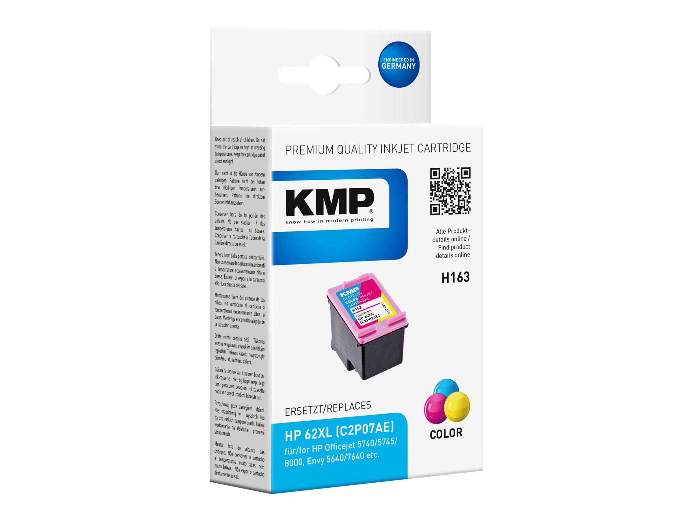 KMP H163 - 11.5 ml - Farbe (Cyan, Magenta, Gelb)
