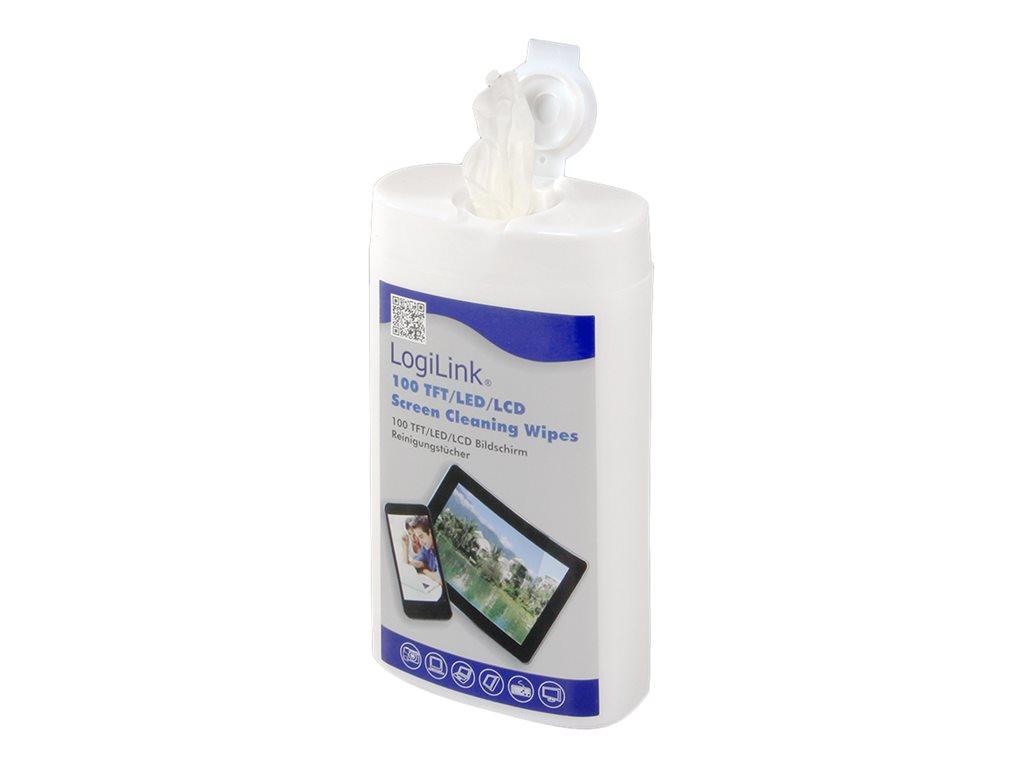 LogiLink Reinigungstücher (Wipes)