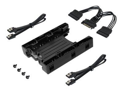 "Icy Dock EZ-Fit Lite MB290SP-1B - Laufwerksschachtadapter - 3.5"" to 2 x 2.5"" (8,9 cm bis 2 x 6,4 cm)"