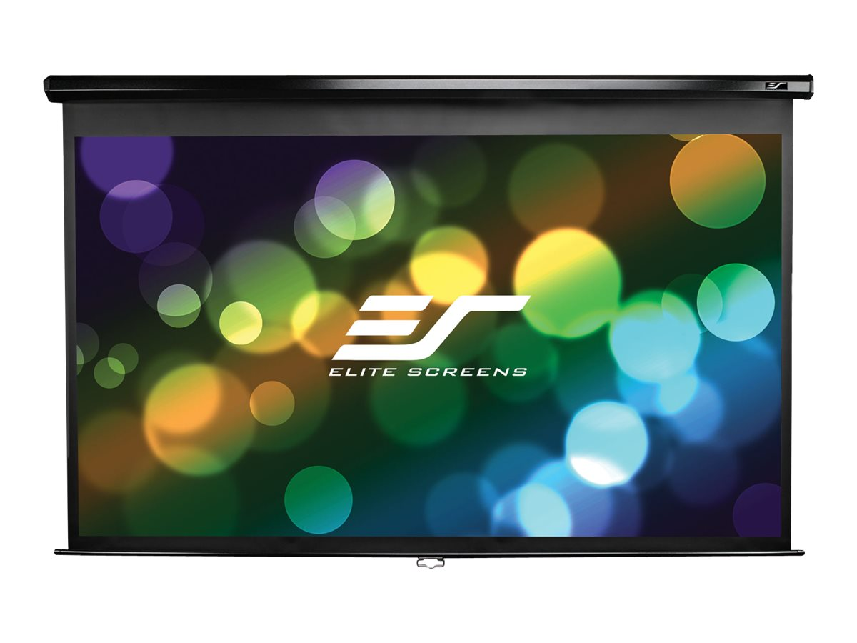 """Elite Screens Manual Series M100XWH-E24 HDTV format - Leinwand - Deckenmontage möglich, geeignet für Wandmontage - 254 cm (100"""")"""