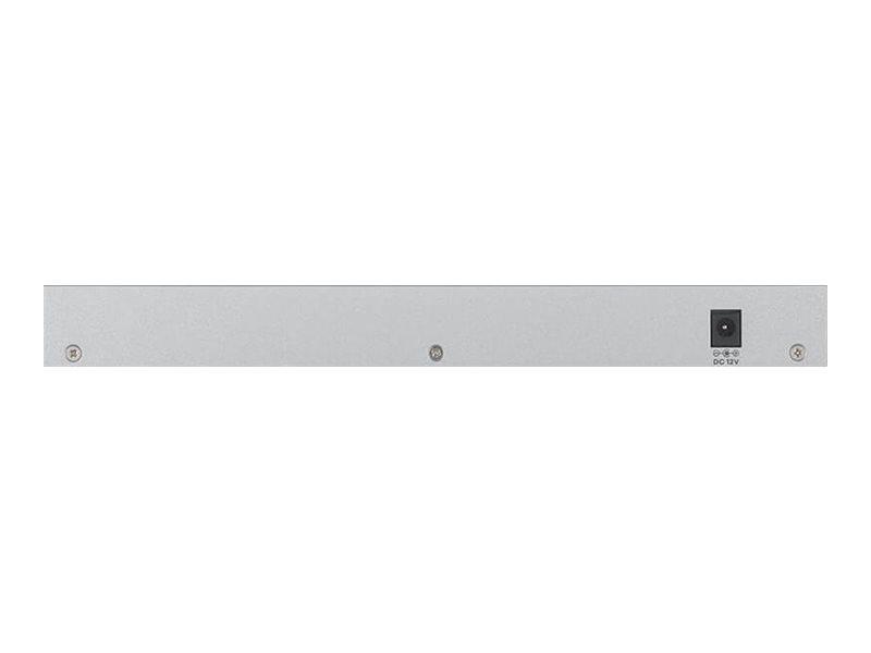 ZyXEL XGS1210-12 - Switch - managed - 8 x 10/100/1000 + 2 x 100/1000/2.5G + 2 x 1 Gigabit/10 Gigabit SFP+ (Uplink)