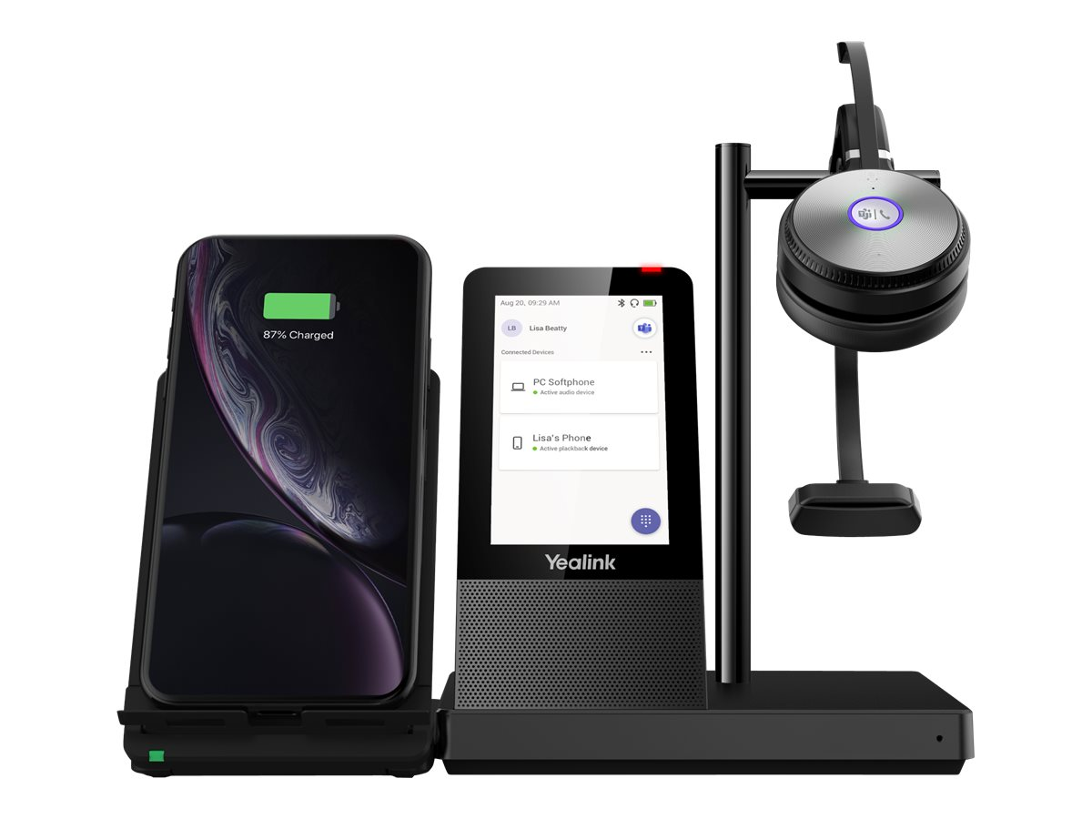 Yealink WH66 Mono X UC Workstation for Microsoft Teams
