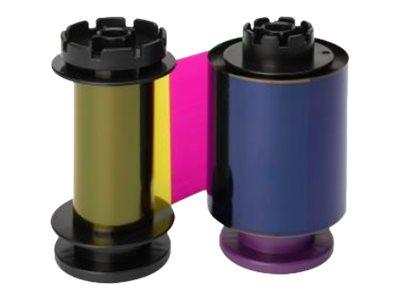 Evolis Farbe (zyan, magenta, gelb, floureszierend, Kunstharz schwarz) - Farbband (Farbe)