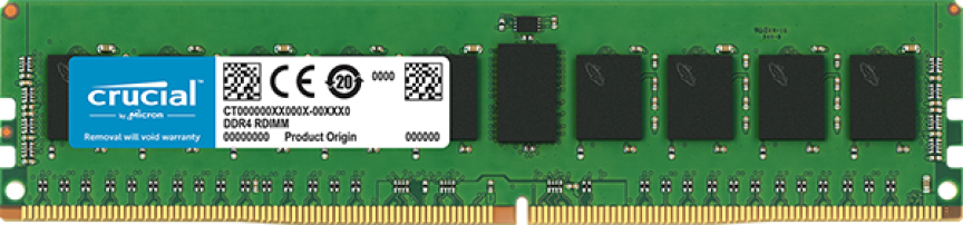 Crucial DDR4 - 8 GB - DIMM 288-PIN - 2666 MHz / PC4-21300