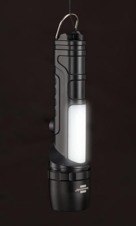 Brennenstuhl 1178690 - Taster-Taschenlampe - Schwarz - Grau - Metall - Tasten - IP54 - LED