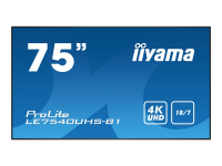 LE7540UHS-B1 - 190,5 cm (75 Zoll) - LED - 3840 x 2160 Pixel - 410 cd/m² - 4K Ultra HD - 16:9
