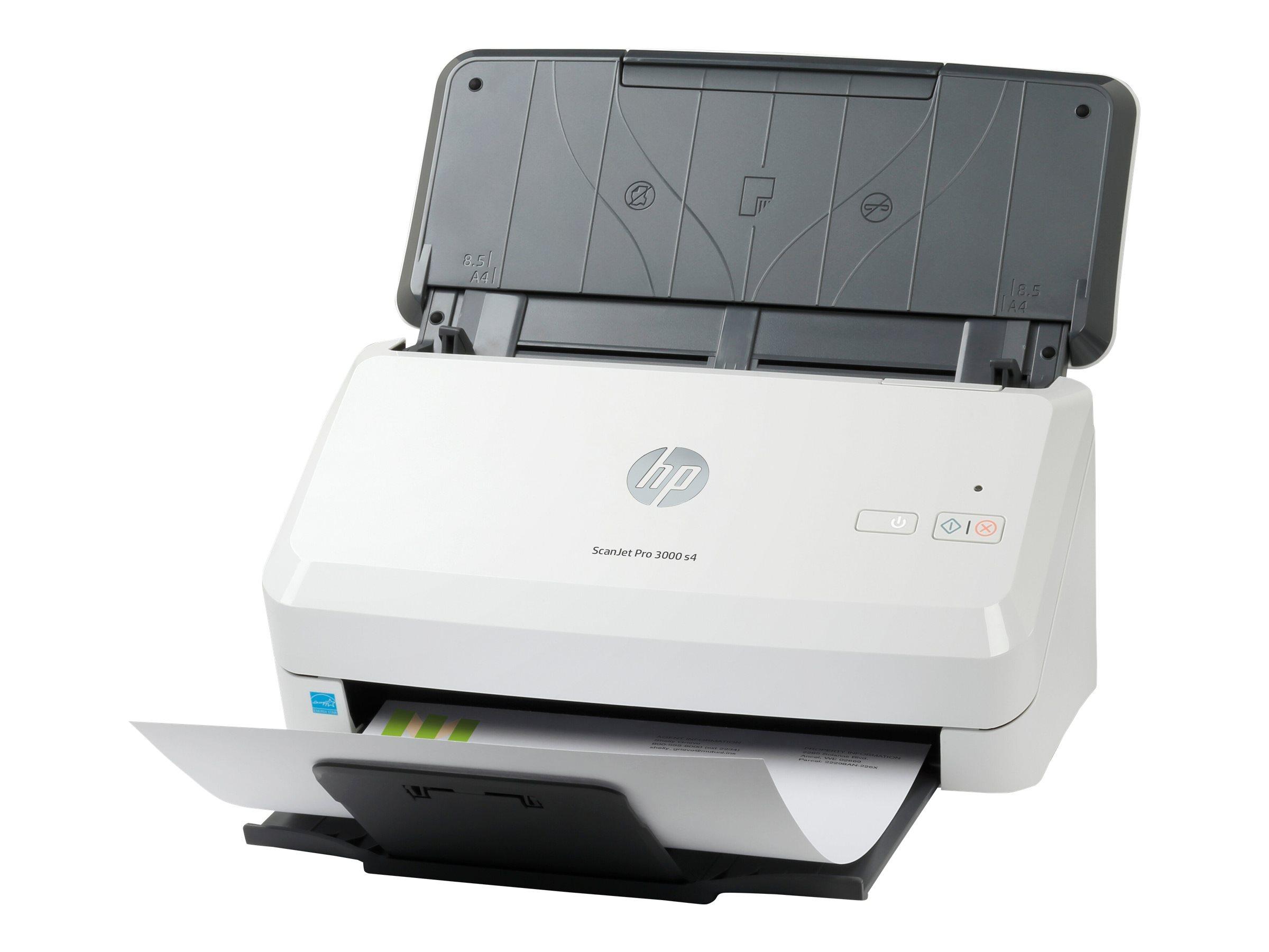 HP Scanjet Pro 3000 s4 Sheet-feed - Dokumentenscanner - CMOS / CIS - Duplex - 216 x 3100 mm - 600 dpi x 600 dpi - bis zu 40 Seiten/Min. (einfarbig)