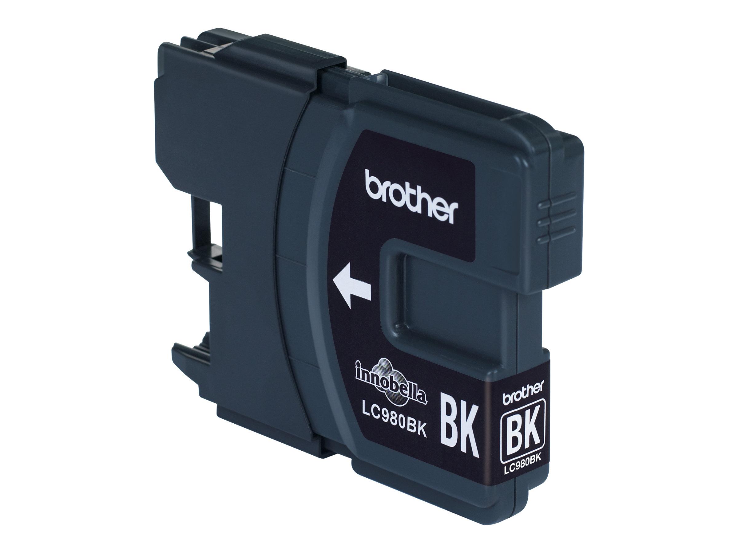 Brother LC980BK - Schwarz - Original - Tintenpatrone