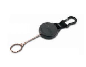 Rieffel KB 8 BLACK - Schlüsselkette - Schwarz - Kunststoff - 600 mm