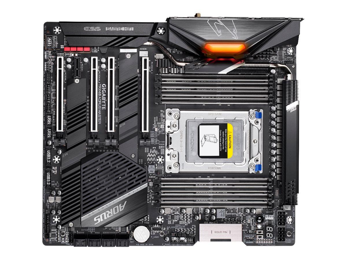 Gigabyte TRX40 AORUS MASTER - 1.0 - Motherboard - Erweitertes ATX - Socket sTRX4 - AMD TRX40 - USB-C Gen2, USB 3.2 Gen 1