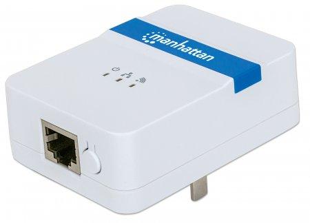 Manhattan Wireless Range Extender - Wi-Fi-Range-Extender - 100Mb LAN
