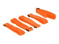 18707 Klettverschluss Orange 5 Stück(e)