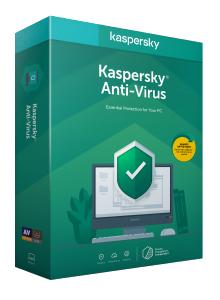 Kaspersky Anti-Virus 2020 - Box-Pack (Upgrade) (1 Jahr)