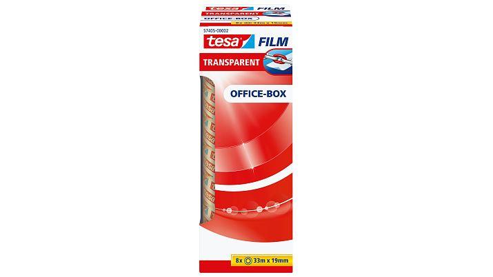 Tesa 57405 - Tesafilm - Klebeband - Office Box - 8 Stück