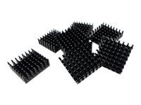 QNAP Festplattenkühler - Schwarz (Packung mit