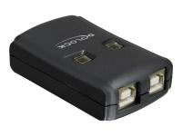 USB 2.0 Sharing Switch - USB-Umschalter für die gemeinsame Nutzung von Peripheriegeräten - 2 Anschlüsse
