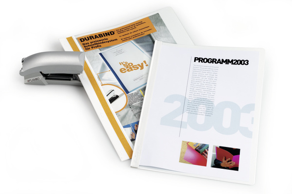 Durable 2250-02 - Transparent - Weiß - PVC - 30 Blätter - A4 - 1 Stück(e)