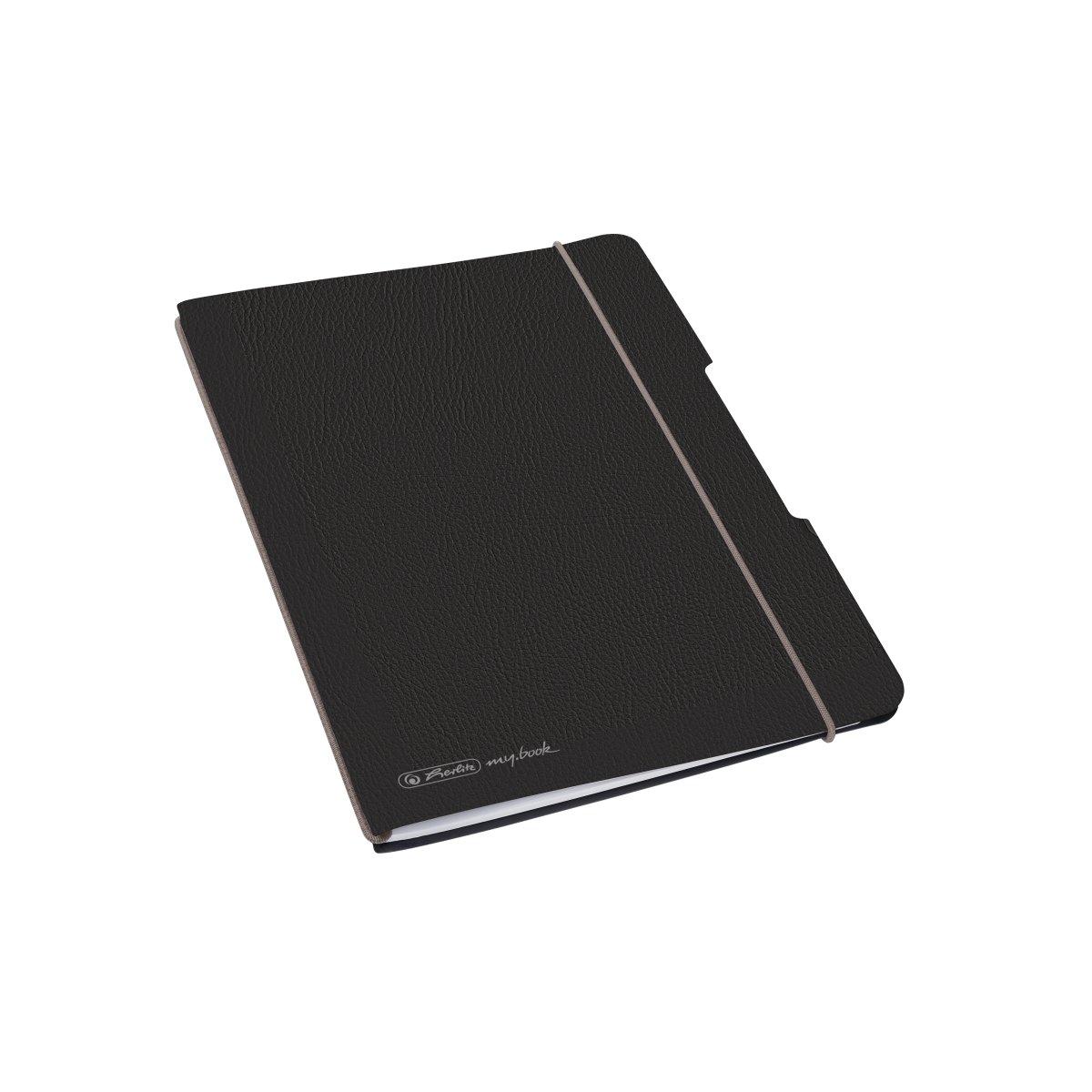 Herlitz 50033782 - Einfarbig - Schwarz - A6 - 40 Blätter - Erwachsener