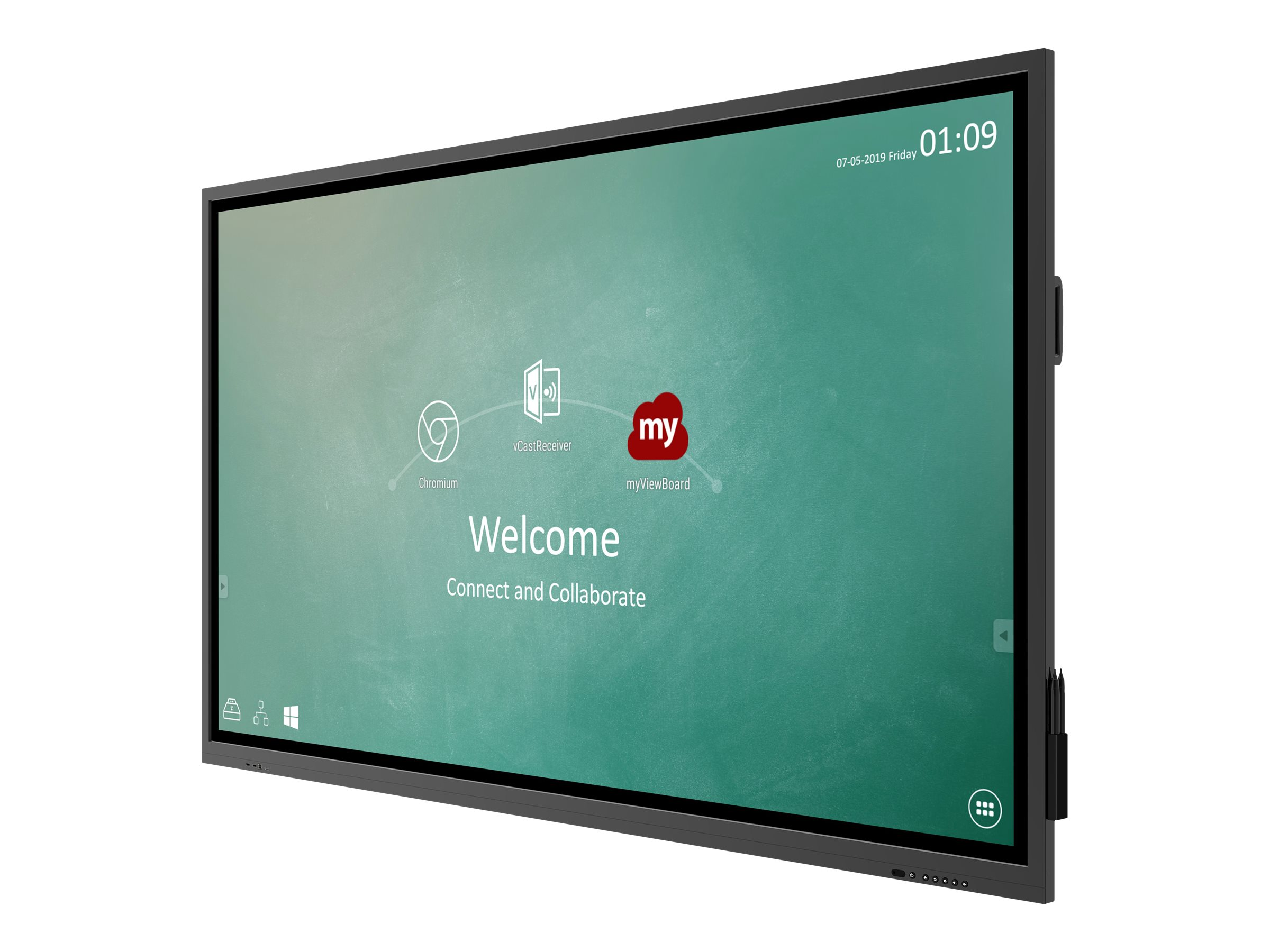 "ViewSonic ViewBoard IFP6530 - 165.1 cm (65"") Klasse IFP30 Series LED-Display - interaktive Digital Signage - mit optiona"