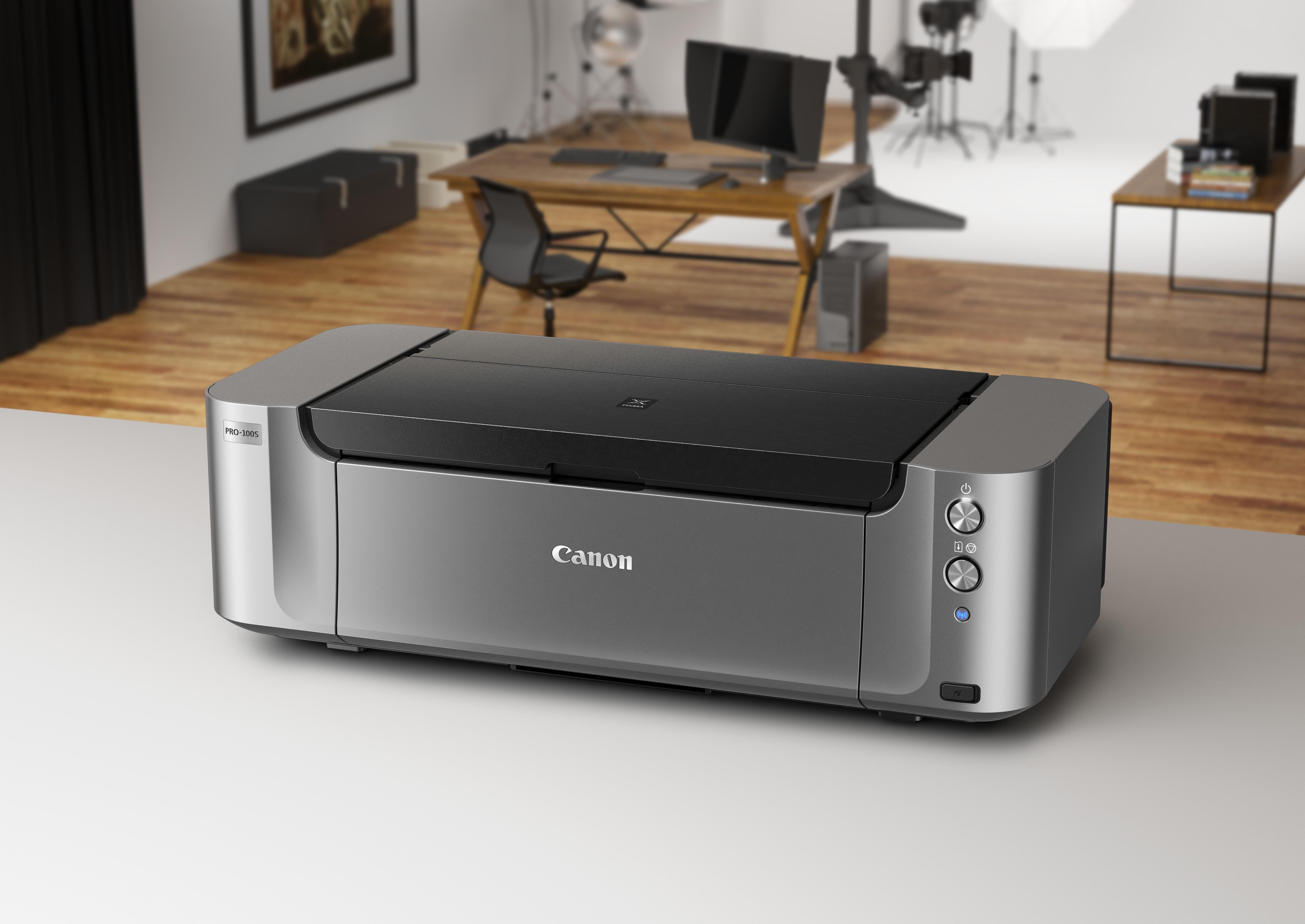 Vorschau: Canon PIXMA PRO-100S Tintenstrahl 4800 x 2400DPI WLAN Fotodrucker