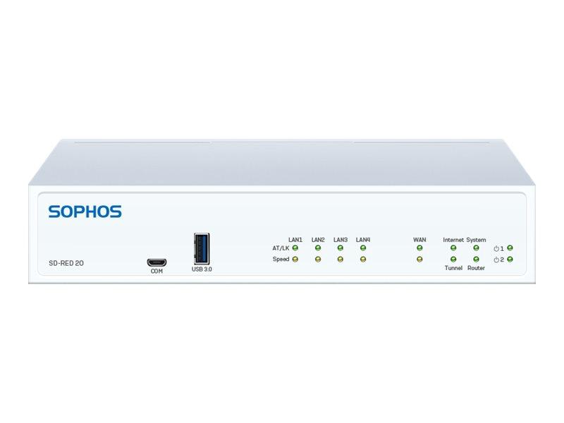 Vorschau: Sophos SD-RED 20 - Rev 1 - Fernsteuerungsgerät