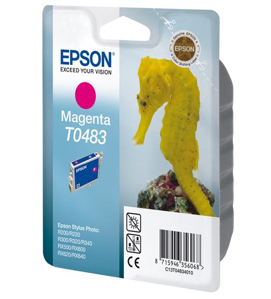 Epson T0483 - Druckerpatrone - 1 x Magenta