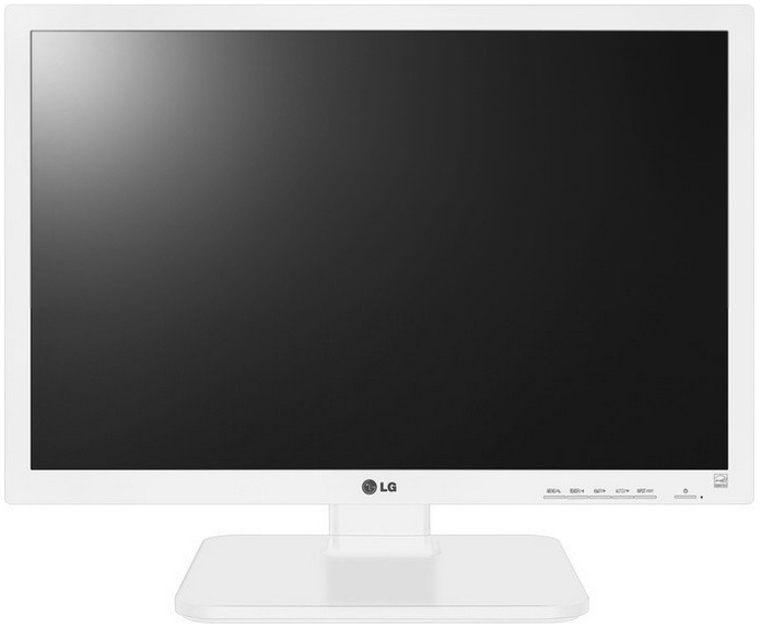 LG 22MB67PY-W 22Zoll TN Weiß Computerbildschirm LED display