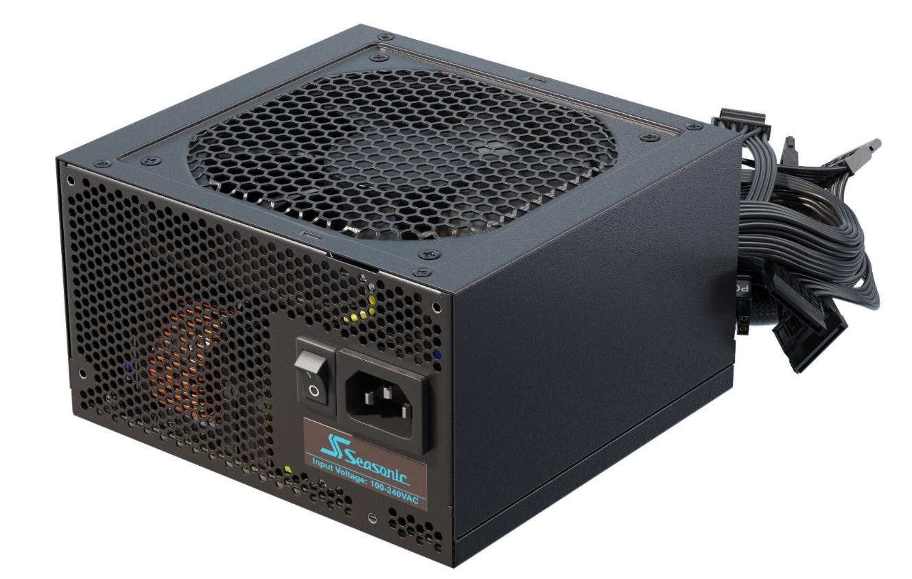 Seasonic Netzteil G-12 550 W - PC-/Server Netzteil - ATX