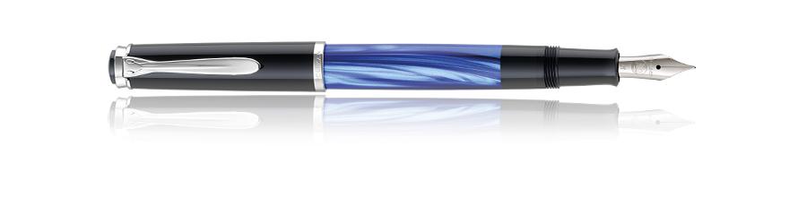 Pelikan Classic M205 - Schwarz - Blau - Edelstahl - 1 Stück(e)
