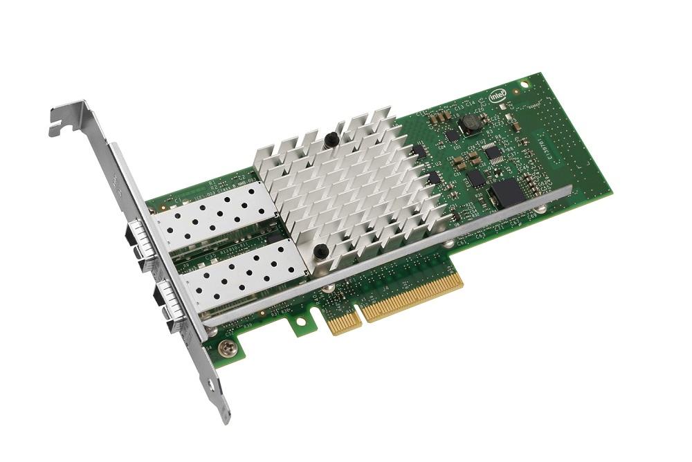 Intel X520-DA2, 2x 10GBase SFP+ Direct Attach, PCIe x8 - Retail
