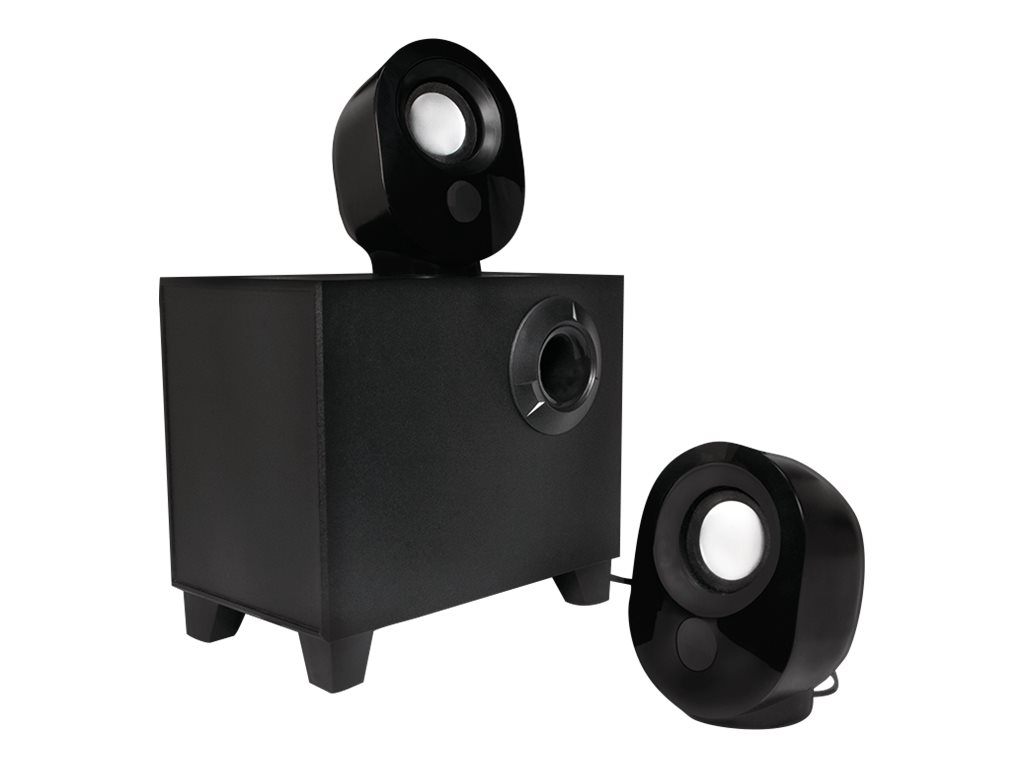 LogiLink Lautsprechersystem - 2.1-Kanal - 9 Watt (Gesamt)