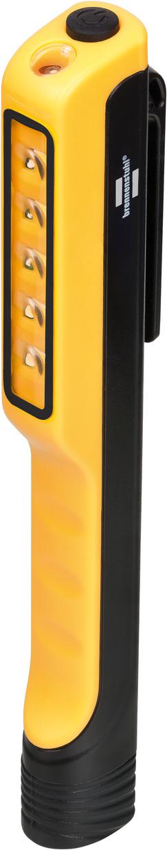 Brennenstuhl 1175990010 - Hand-Blinklicht - Schwarz - Gelb - Kunststoff - Tasten - IP20 - LED