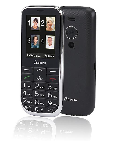 Olympia Joy II - Balken - Dual-SIM - 6,1 cm (2.4 Zoll) - Bluetooth - 600 mAh - Schwarz