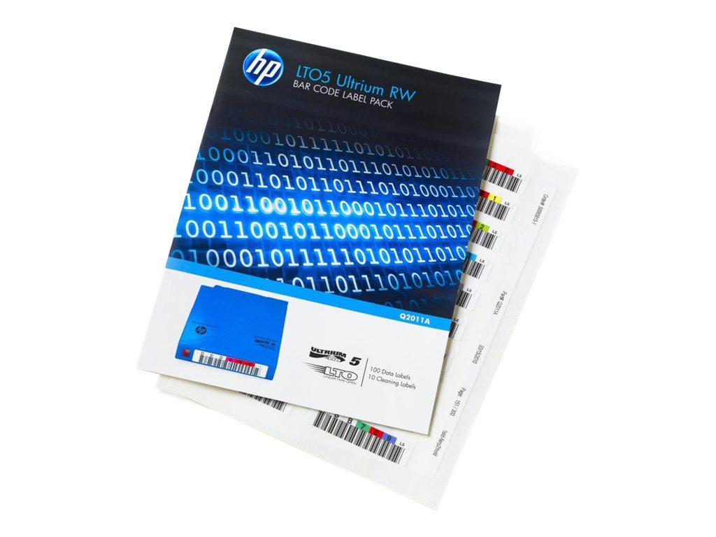 HP LTO-5 Ultrium WORM Etikett. (Q2012A)