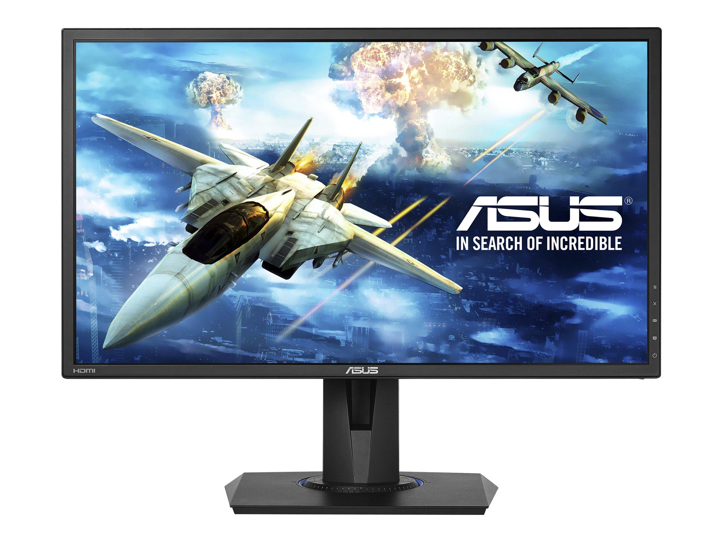 """ASUS VG245H - LED-Monitor - 61 cm (24"""") - 1920 x 1080 Full HD (1080p) TN - 250 cd/m² - 1 ms - 2xHDMI - VGA - Lautsprecher - Schwarz"""