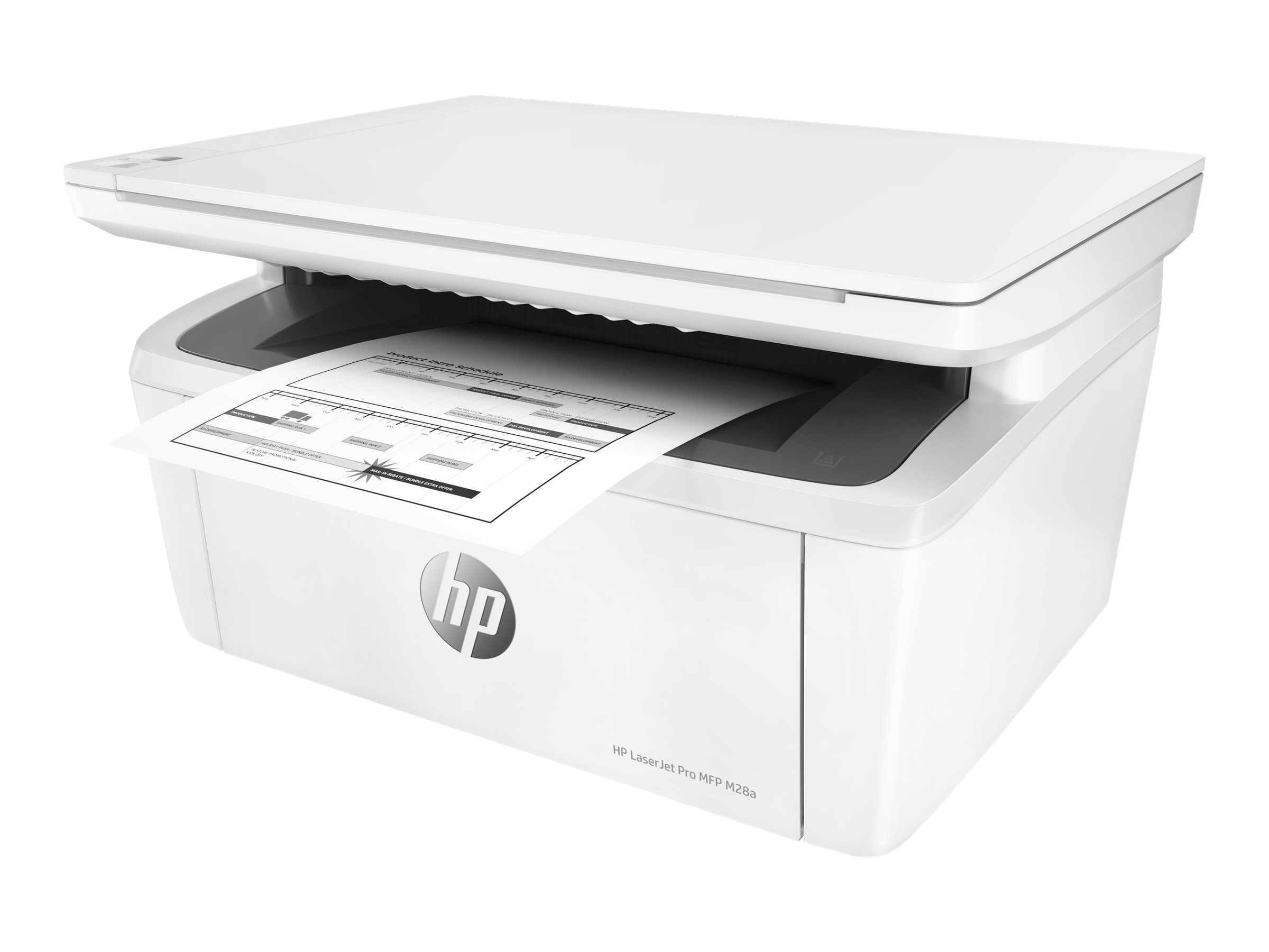 HP LaserJet Pro MFP M28a - Multifunktionsdrucker - s/w - Laser - 216 x 297 mm (Original)