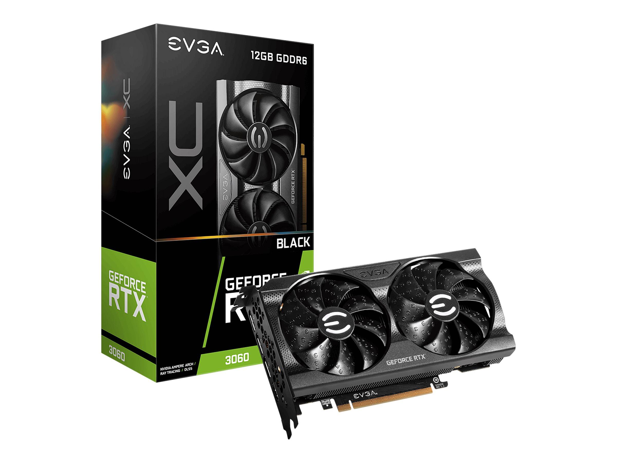Vorschau: EVGA GeForce RTX 3060 XC BLACK GAMING - Grafikkarten
