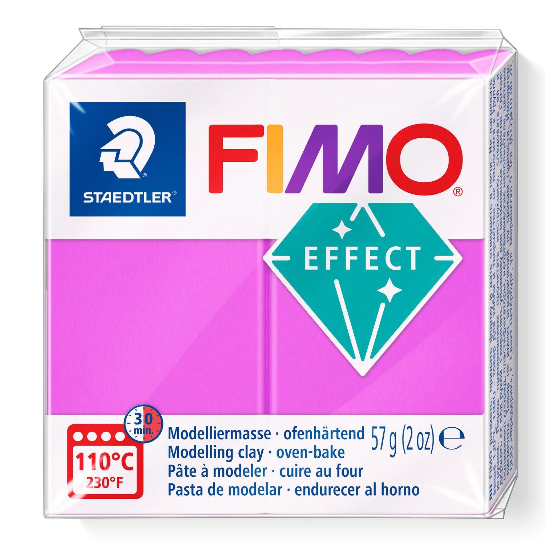 Vorschau: STAEDTLER FIMO 8010 - Knetmasse - Violett - Erwachsene - 1 Stück(e) - Neon purple - 1 Farben