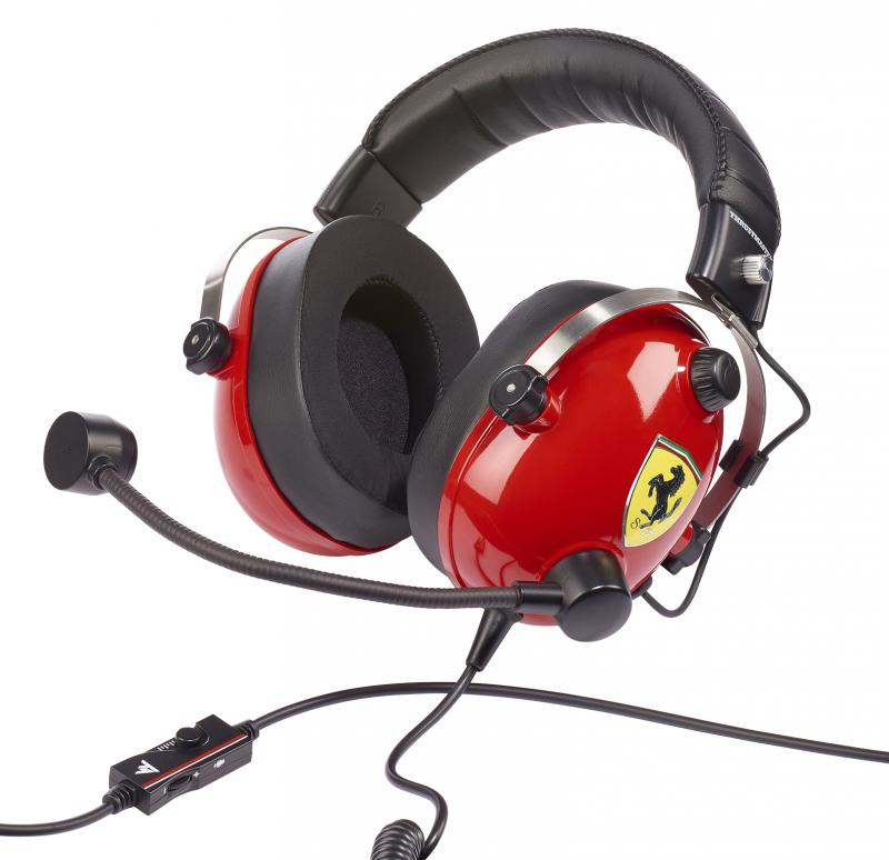 ThrustMaster - Gaming Headset - T.Racing Scuderia - Ferrari Edition
