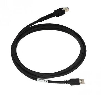 Zebra Datenkabel - USB (M) - 4.6 m - gerader Stecker