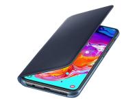 EF-WA705 - Geldbörsenhülle - Samsung - Galaxy A70 - 17 cm (6.7 Zoll) - Schwarz