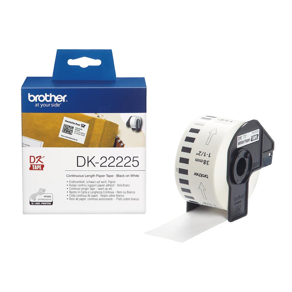 Vorschau: Brother DK-22225 Etiketten / Beschriftungsbänder - 500 Blatt