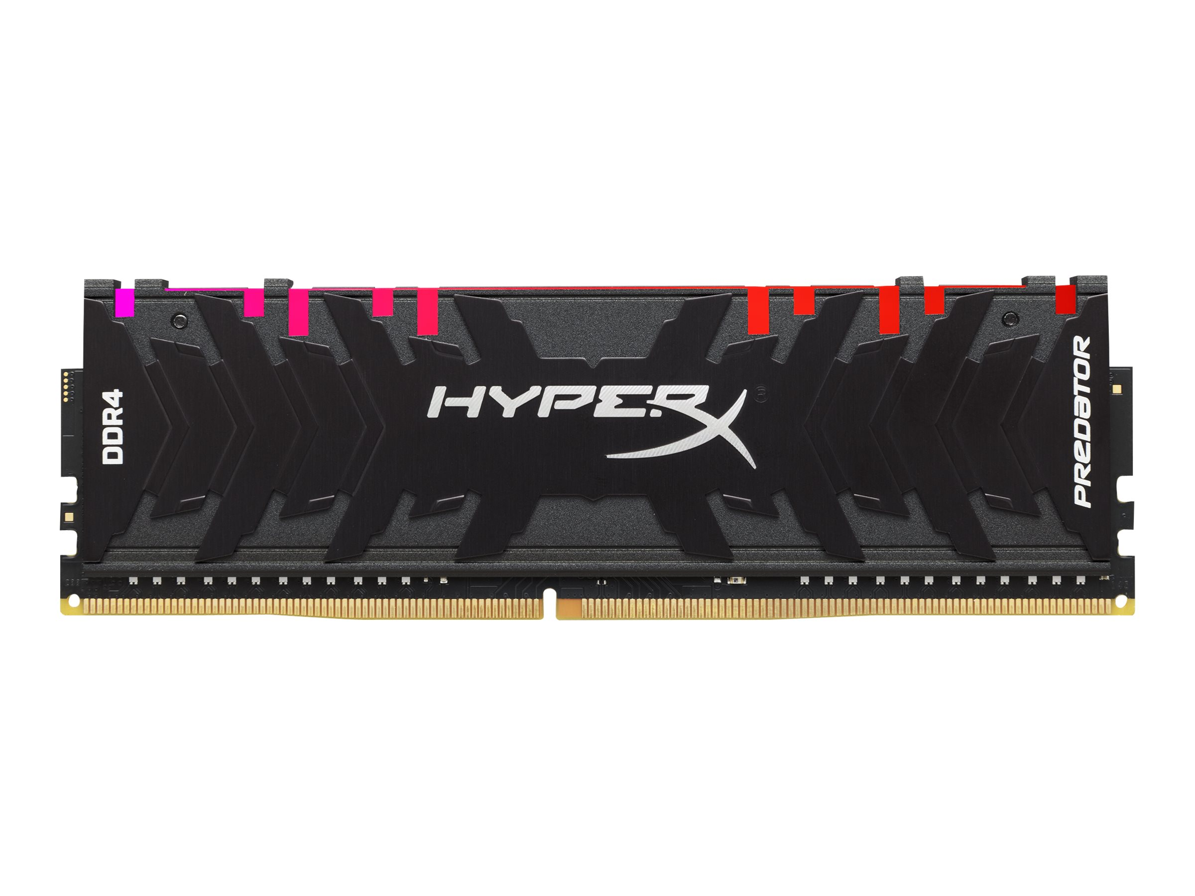 Kingston HyperX Predator RGB - DDR4 - 16 GB: 2 x 8 GB DIMM 288-PIN - 3200 MHz / PC4-25600 - CL16 - 1.35 V - ungepuffert - non-ECC - Schwarz