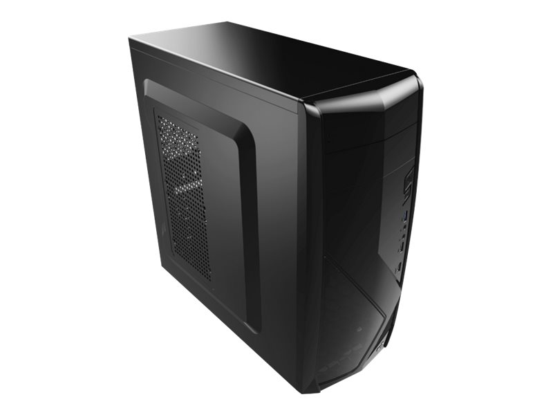 AEROCOOL ADVANCED TECHNOLOGIES AeroCool PGS C Series CS-1102 - Black Edition - Tower - ATX - ohne Netzteil (ATX)